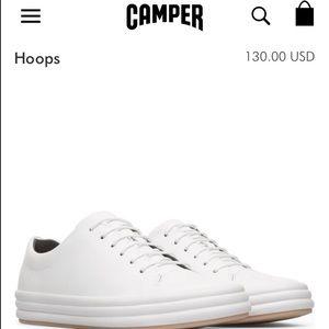 CAMPER Hoop white sneakers